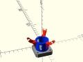 adaptive-gripper-3D-printed-nema-body