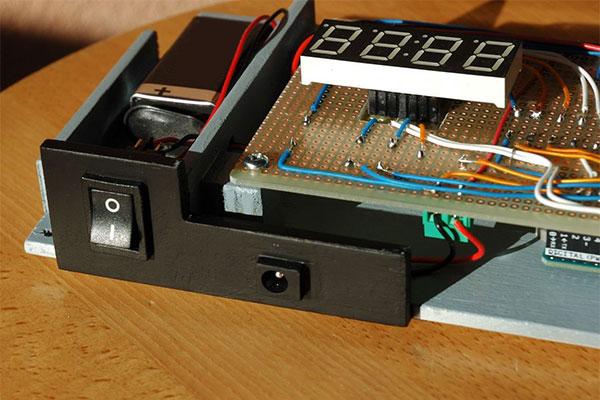 Anemometro a coppe portatile progetto montato 9