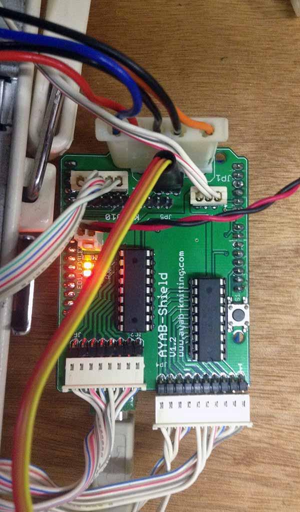 KH930 hacking ayab shield connector