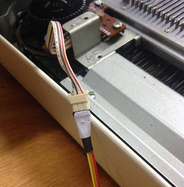 KH930 hacking encoder right connector