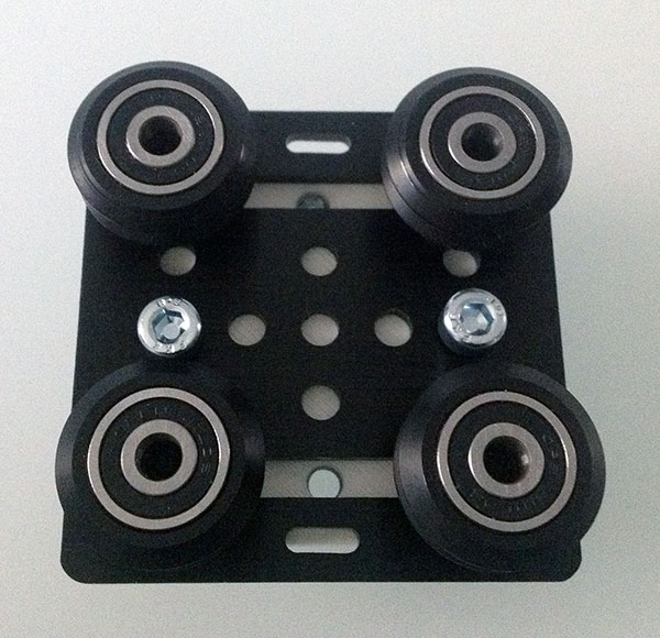 openbuilds gantry plate v2 delta carriage wheel