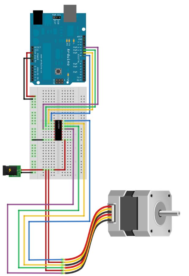Schema di collegamento 1