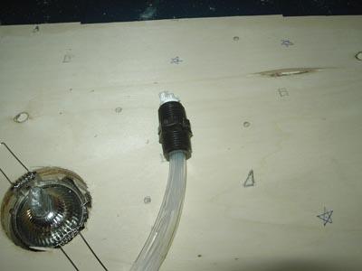Bulbo per illuminatore a fibre ottiche