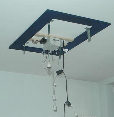 Montaggio a soffitto