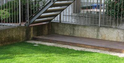 struttura base della legnaia