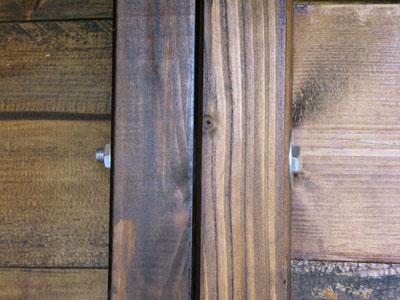 Bulloni di fissaggio della legnaia