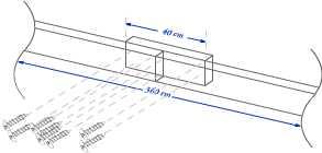 schema di costruzione della base - legnaia