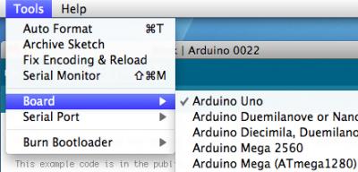 Arduino Uno Select