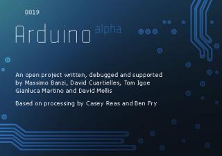 IDE Arduino 0019
