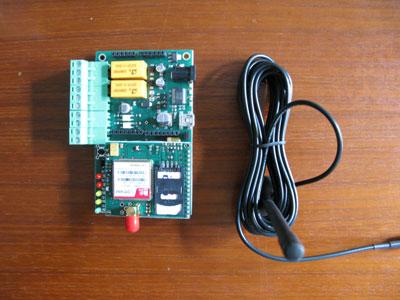 TiDiGino: la scheda prototipo e l'antenna