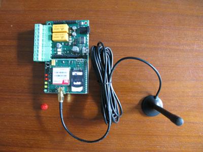 TiDiGino: scheda prototipo montata