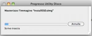 Masterizzazione OS X Lion