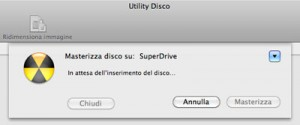 Inserisci disco
