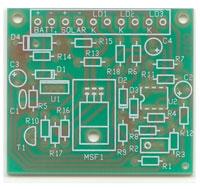circuito caricabatterie solare fronte