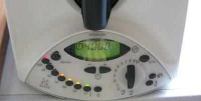 40min vel cucchiaio temperatura varoma