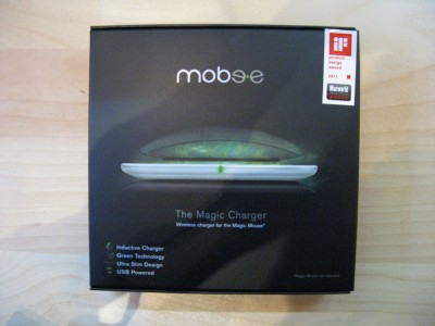 Magic Charger Mobee a induzione per Magic Mouse
