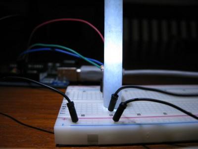 Led RGB accesi tutti i led, risulta bianco (#ffffff)