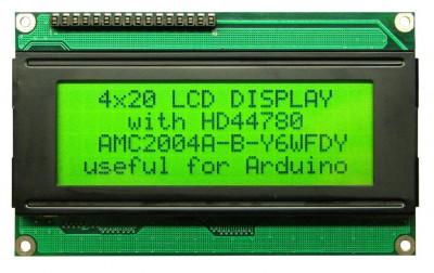 Lcd 4x20 HD44780