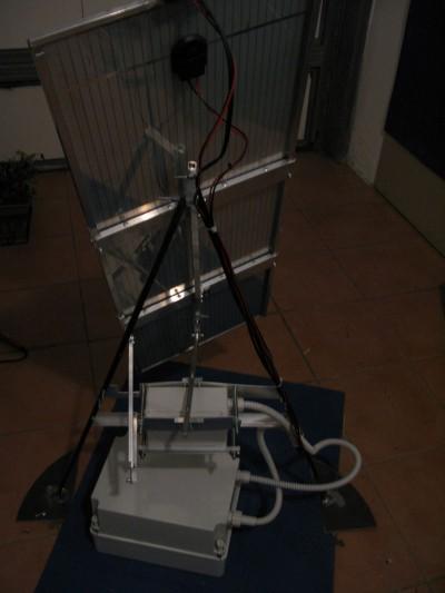 Meccanica Inseguitore solare montato