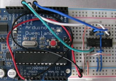 Motori bipolari pin 10 Arduino su SN754410NE