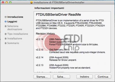 FTDI USB installazione - Slide 2
