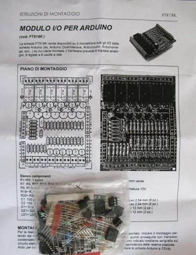 Modulo I/O per Arduino