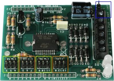jumper definizione pin tra motor shield e arduino