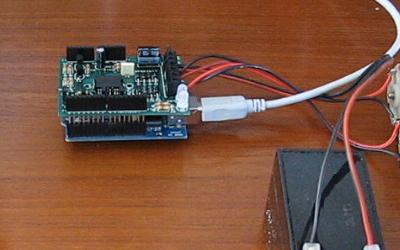 Arduino + Motor Shield