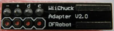 nunchuck adapter dfrobot
