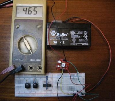 circuito di test del convertitore