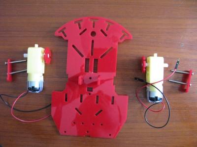 Beginner Robot - Assemblaggio motori