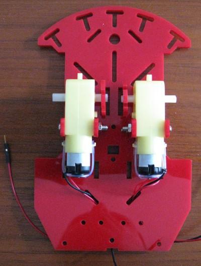 Beginner Robot - Motori montati