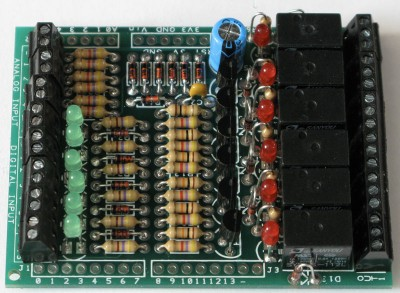 Arduino shield I/O