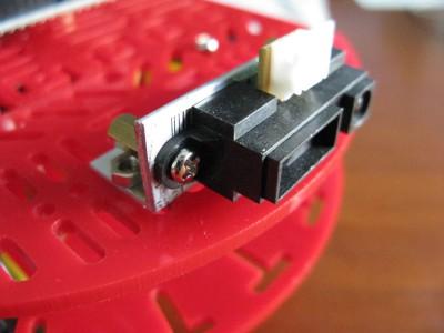 Montaggio sensore GP2Y0A21YK