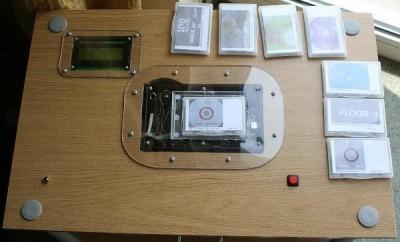 arduino rfid music table