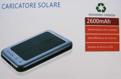 caricabatterie solare