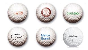 palline da golf personalizzate