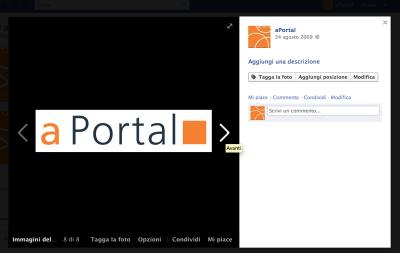 Visualizza immagine di un album FaceBook