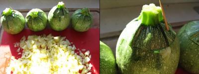 ricomponi zucchine e cappelli