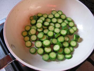 zucchine in padella