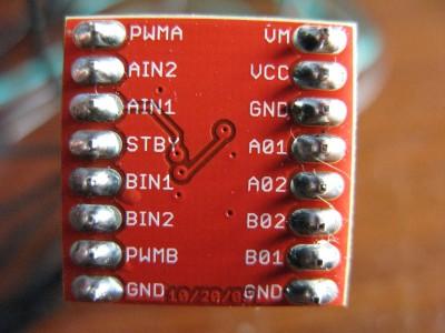 TB6612FNG Driver Motori