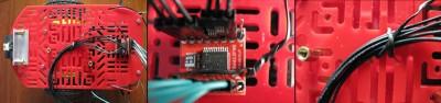 Passaggio fili tra TB6612FNG ed arduino