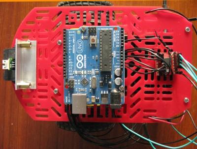 Monta arduino sul Beginner Robot Kit