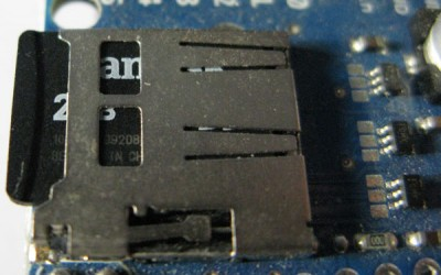 SD Card Ethernet Shield