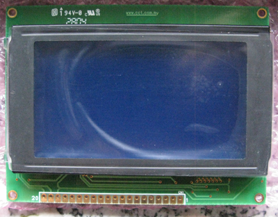 display LCD grafico 128x64 per Arduino