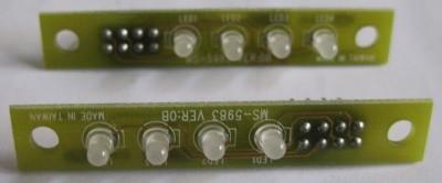 componenti del semaforo a led