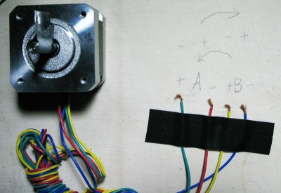 le fasi di un motore passo-passo