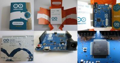 Unboxing Arduino  Leonardo