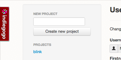 Codebender progetti