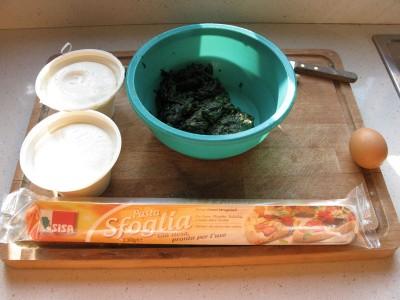 Fagottini di spinaci e ricotta